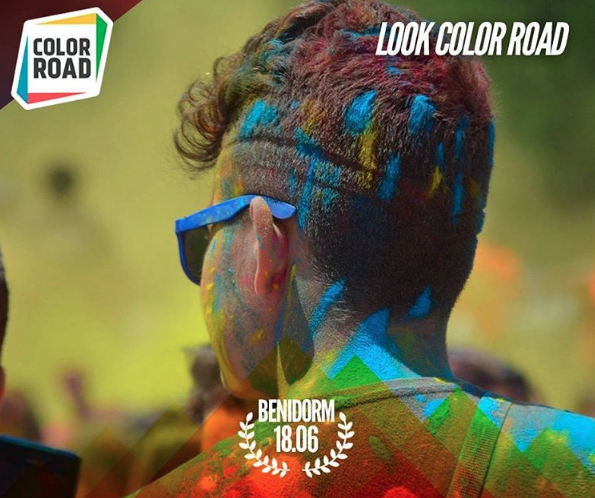 Color Road Benidorm 2016