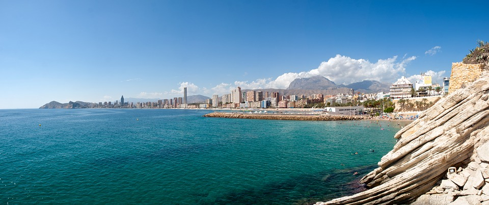 cala - playas Benidorm - beaches